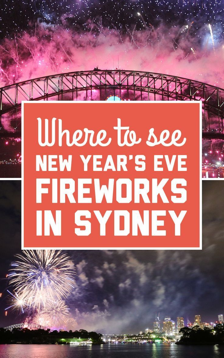 Where to see the New Year's Eve fireworks in Sydney (With