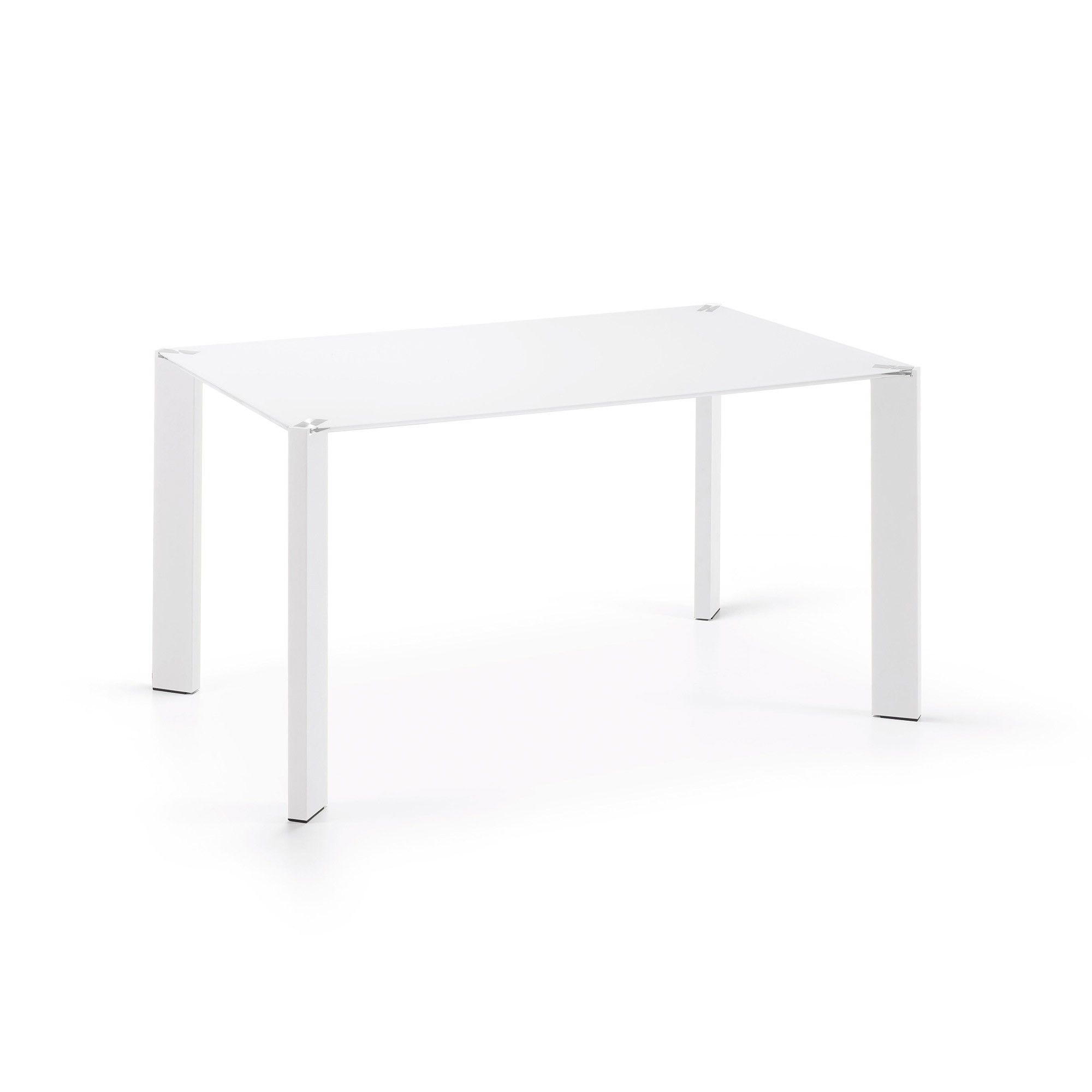 Table Spot 140x90 cm, blanc