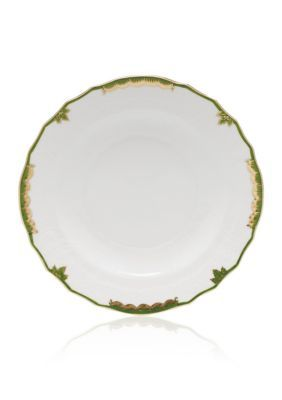 Herend Dark Green Princess Victoria Dark Green Salad Plate