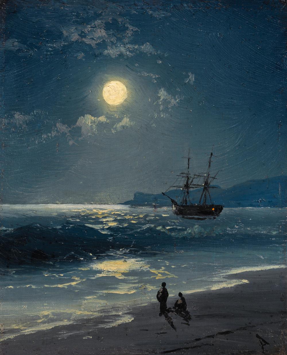 картина айвазовского море в лунном свете картинки этим предметам меня