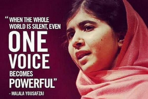 Malala Yousafzai Quotes Malala Yousafzai Quotes  Google Search  Politicalfeminist Musings .