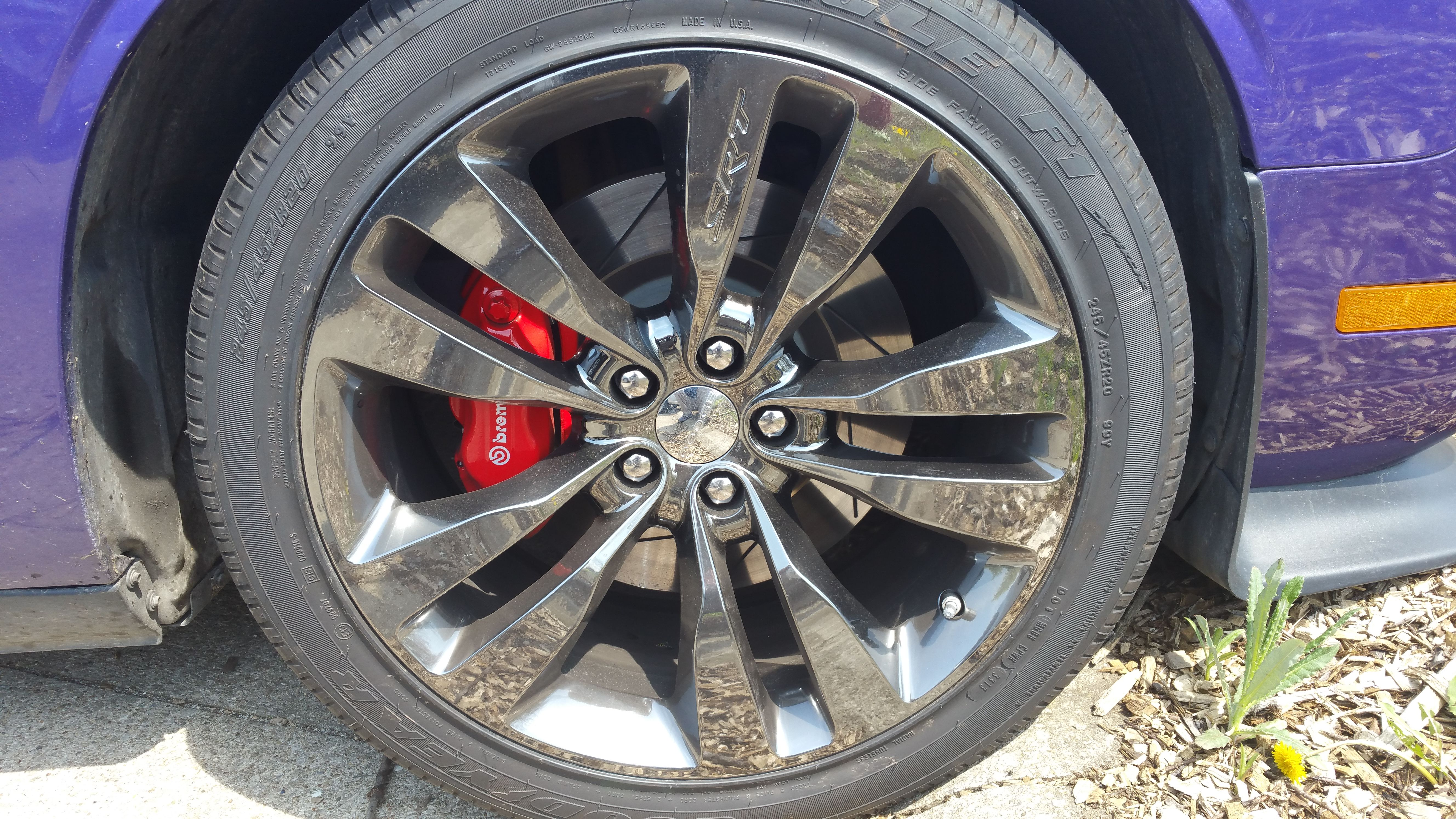 Brunswick Auto Mall >> 2013-14 Dodge Challenger Chrome Black Vapor Aluminum Wheel 1PA57SZGAB OEM Mopar | Brunswick Auto ...
