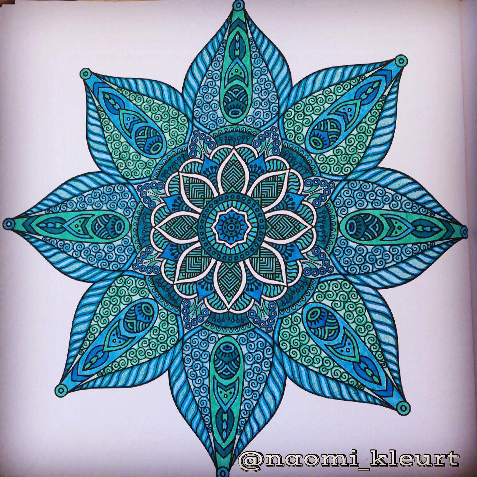 Kleuren Voor Volwassenen Colouring For Adults Coloriage Mandala