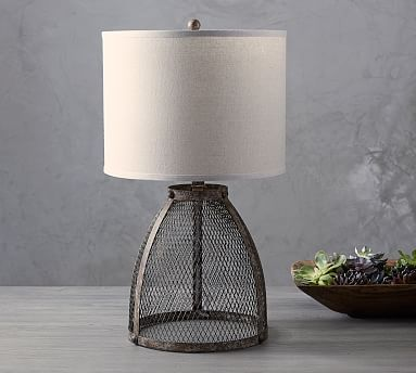 Zadie Caged Wire Table Lamp Table Lamp Wire Table Lamp