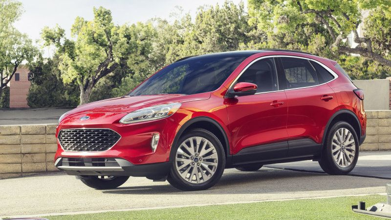2020 Ford Escape Hybrid Estimated To Get 39 Mpg Ford Escape