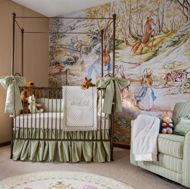 12 nurseries inspired by classic kids books nursery for Beatrix potter bedroom ideas