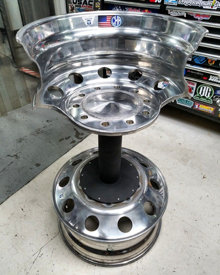 Aluminum Ermaksan Working Mexico: Comfortable Work Stool Made From A Old Set Alcoa Semi