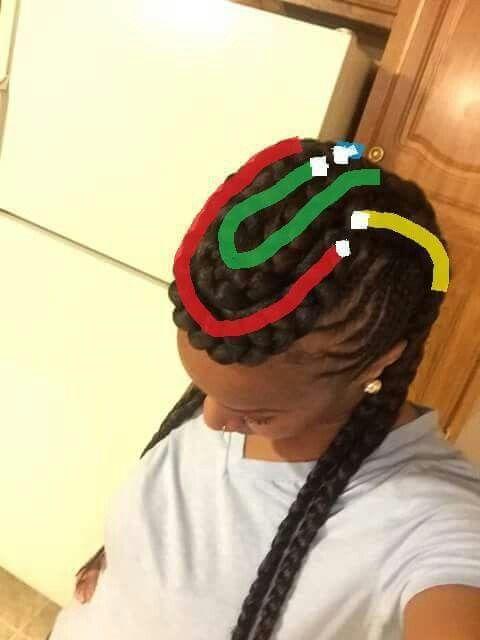Braid Pattern Cardi B Hair Omg Pinterest Braid