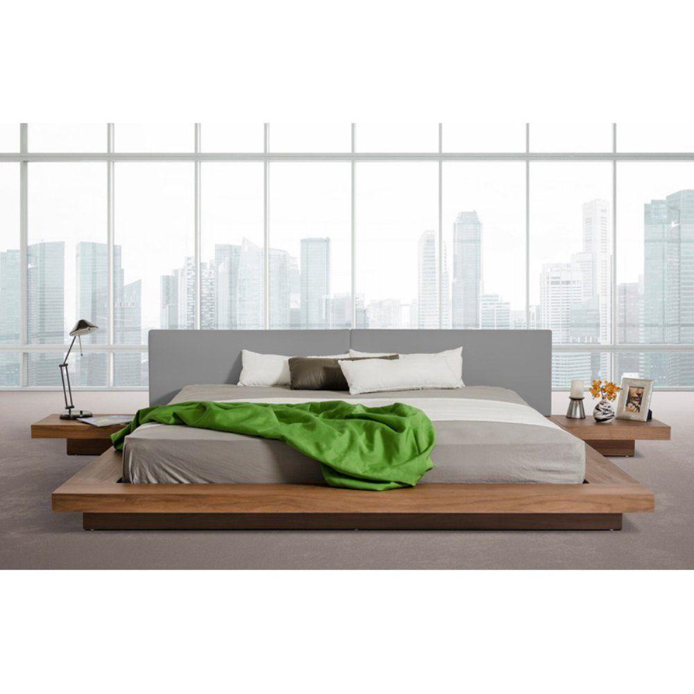 Amazon.com: Vig Furniture Modrest Opal Platform Bed: Kitchen ...