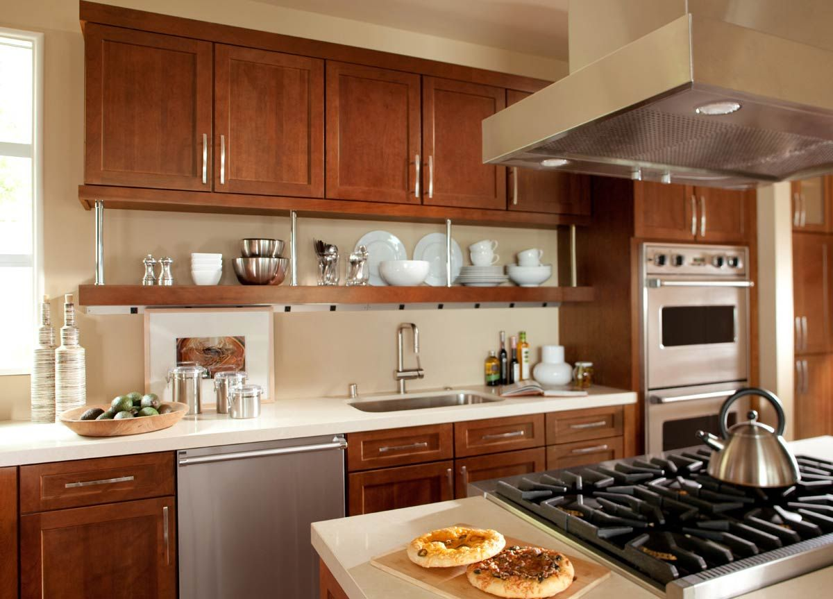 Waypoint Kitchen Cabinets Needs Open Shelf Electrical Strip Living Spaces