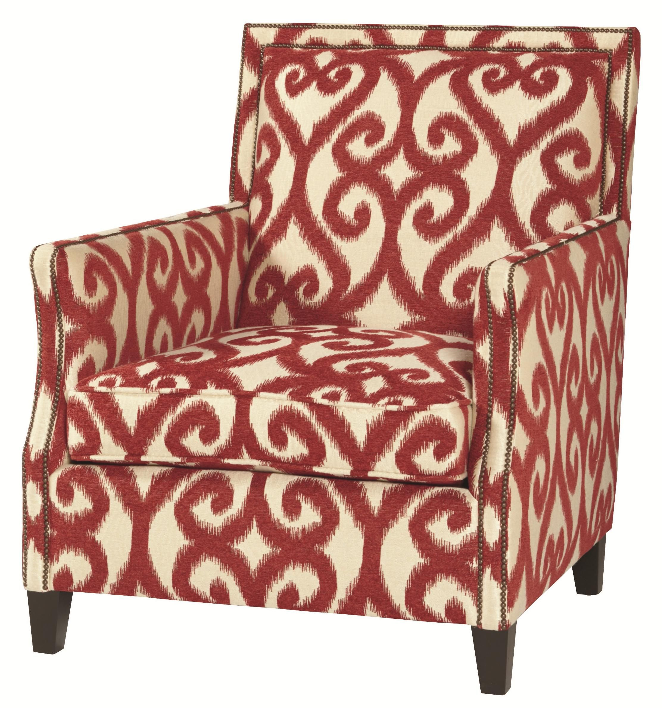 Upholstered Accents Scarsdale Chair by Bernhardt at NB Liebman