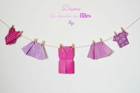 La Chambre Des Filles Vetements En Origami Origami Robe En Origami Pliage De Papier Origami