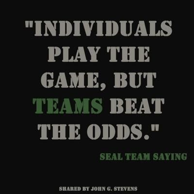 Navy Seal Quotes Alluring Navy Seal Team Quote  Quotes  Pinterest  Navy Inspirational And