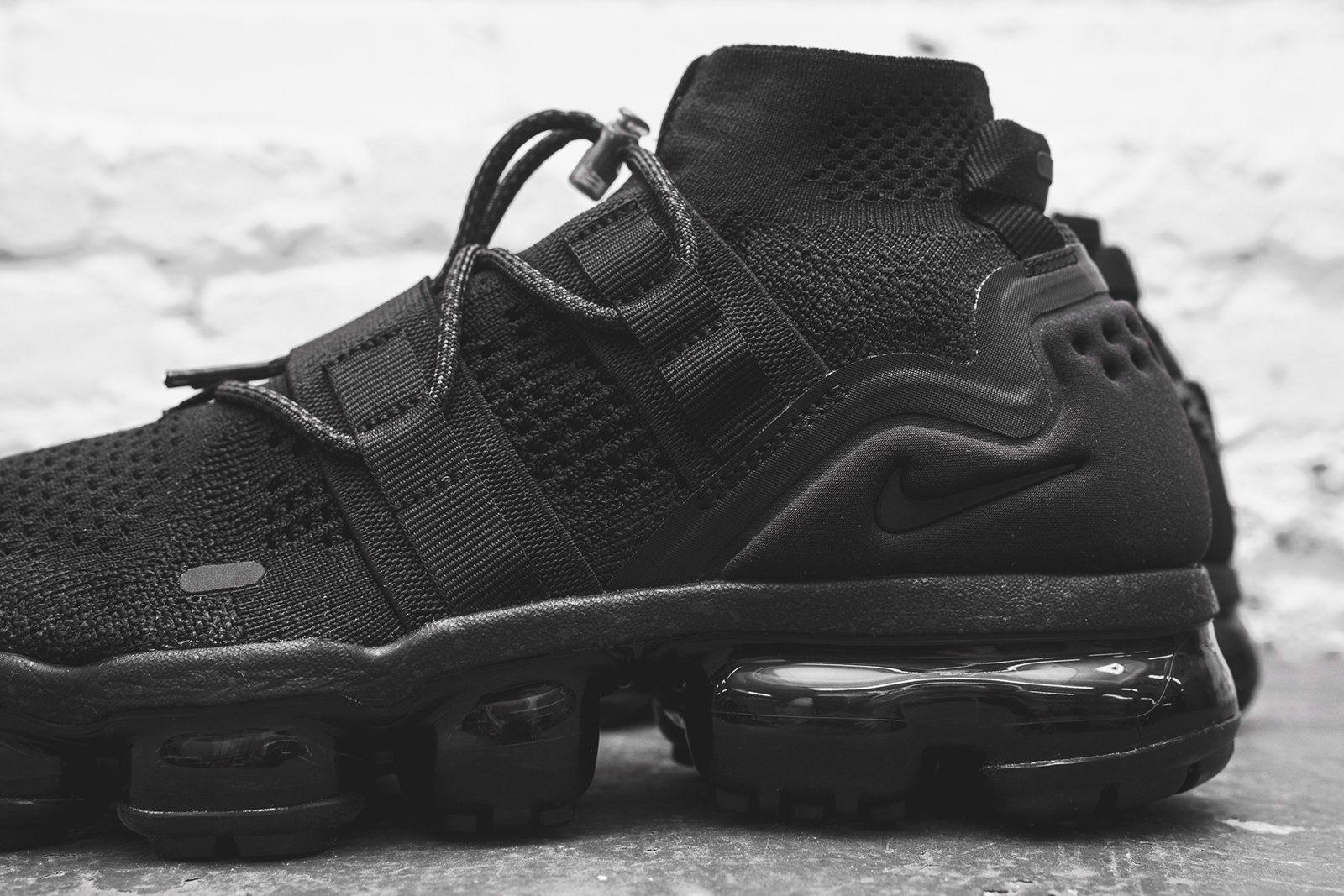 new arrival 88203 d5c69 Nike Air VaporMax FK Utility - Triple Black | Sneaker | Nike ...