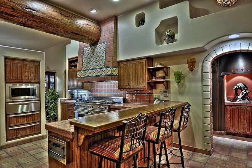23 beautiful spanish style kitchens design ideas