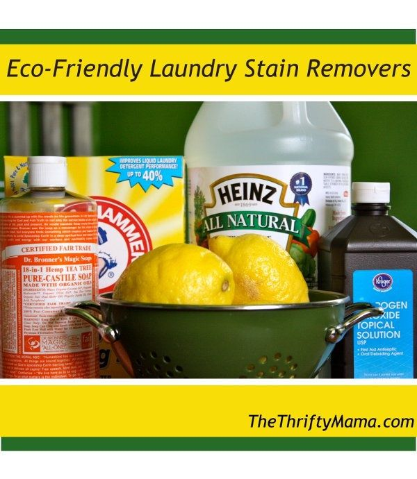 Best Laundry Stain Removers Eco Friendly Laundry Stain Remover