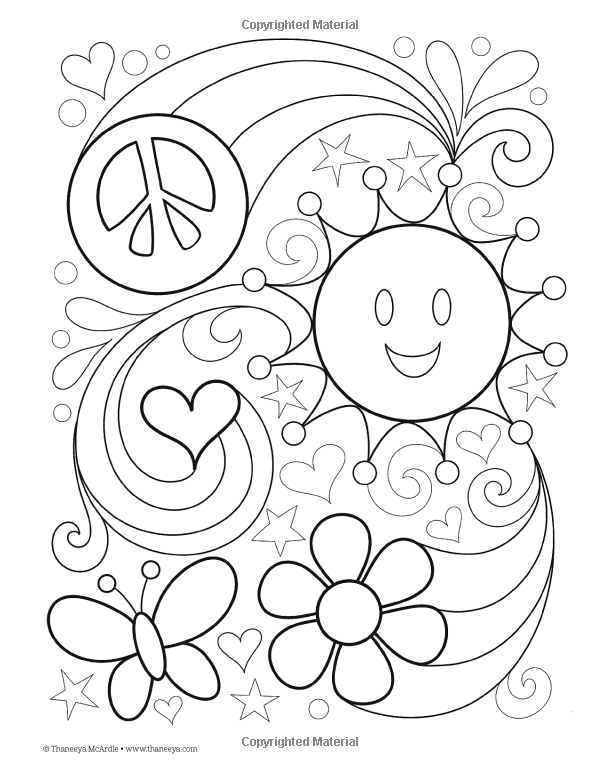 Peace Love Coloring Book Design Originals Thaneeya Mcardle 9781574219630 Amazon Com Books Love Coloring Pages Coloring Pages Coloring Books