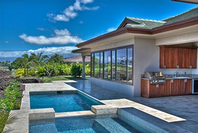 Openair Mauna Lani Point home on the BigIsland Hawaii