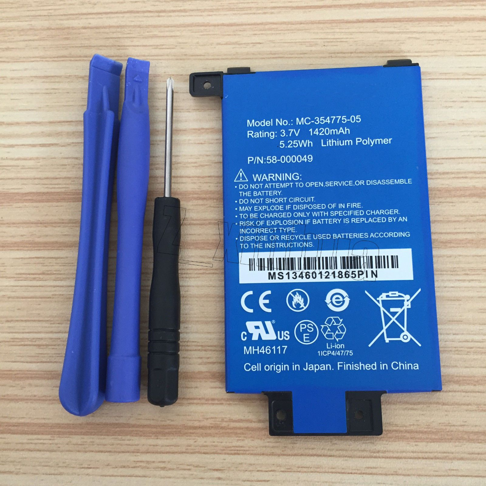New OEM Battery 58-000049 MC-354775-05 For Amazon Kindle PaperWhite 2nd Gen 6/""