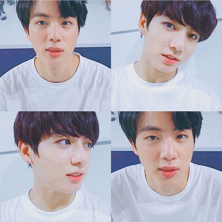 Jin And Jungkook Lookalike Jungkook And Jin Jungkook Look Alike