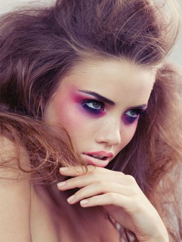 pink and purple grunge