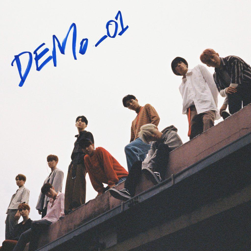 Pentagon Demo 01 Album Cover Album Covers Pentagon Album