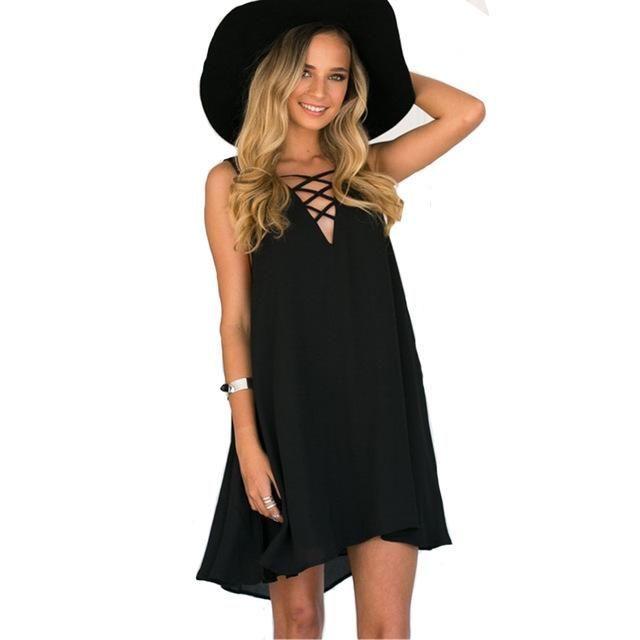 Bohemian Dress - Vestidos Full Colour Sun Frock