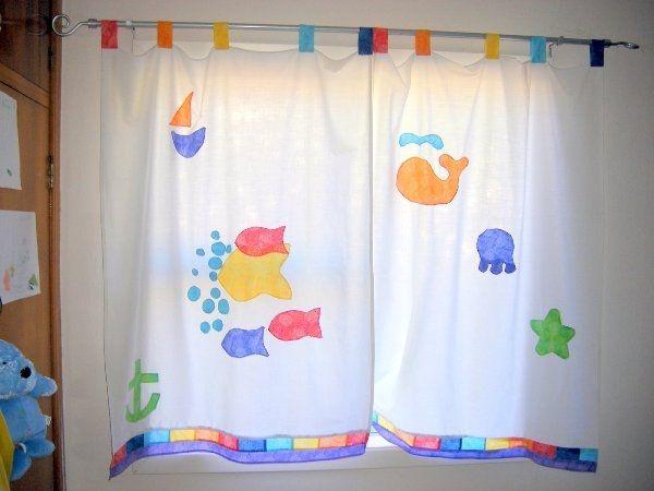 cortinas de tela para dormitorio de niños   Buscar con Google