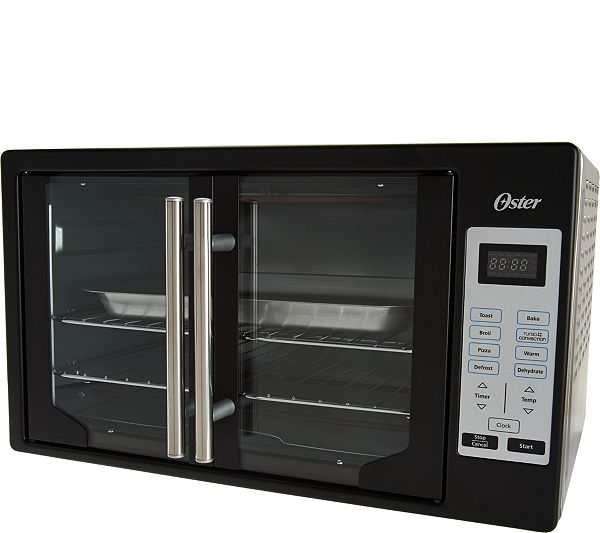 Oster Xl Digital Convection Oven With French Doors Qvc Com Countertop Convection Oven Convection Oven