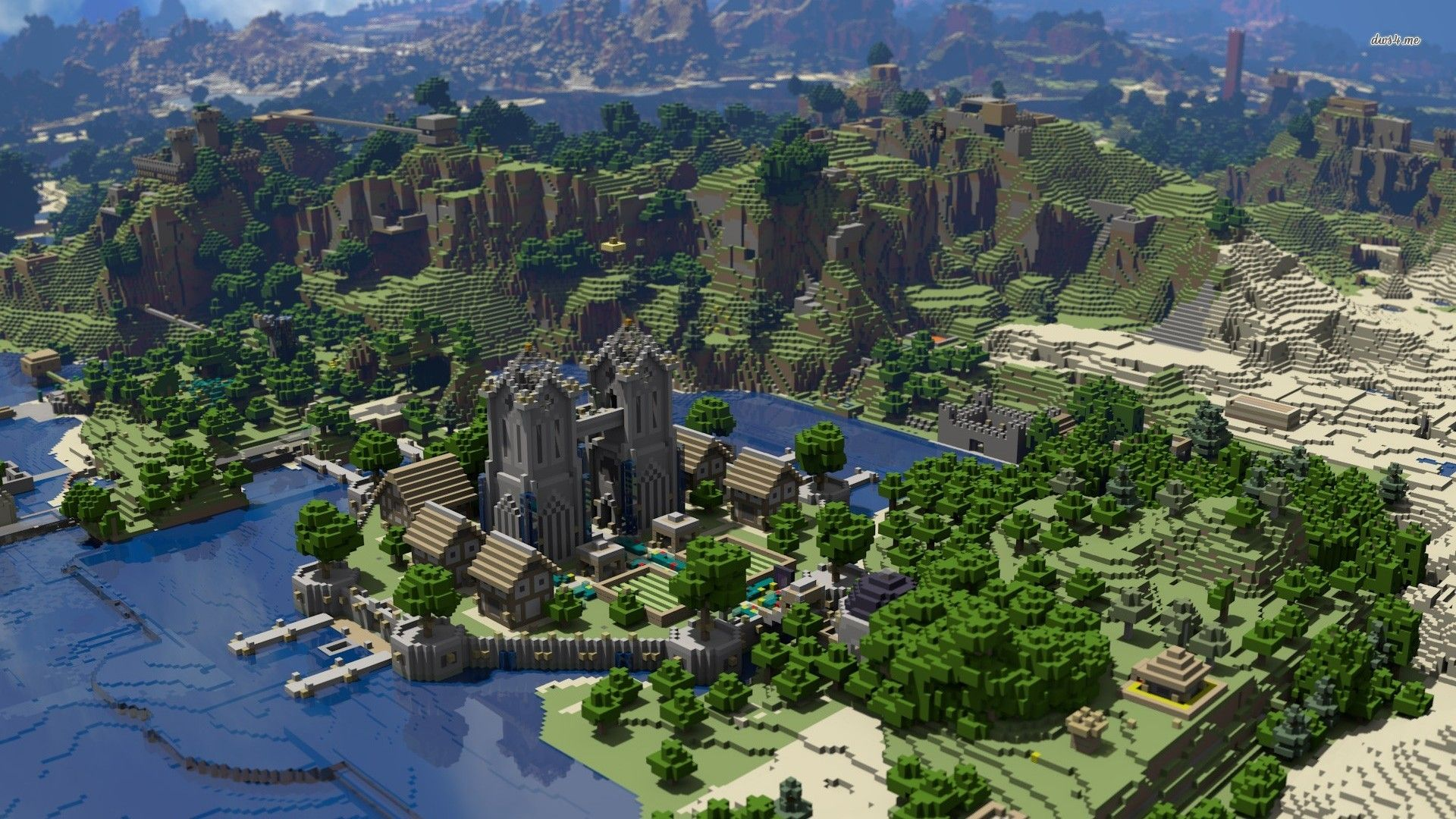 High Resolution Minecraft Wallpaper HD 20 Game Full Size