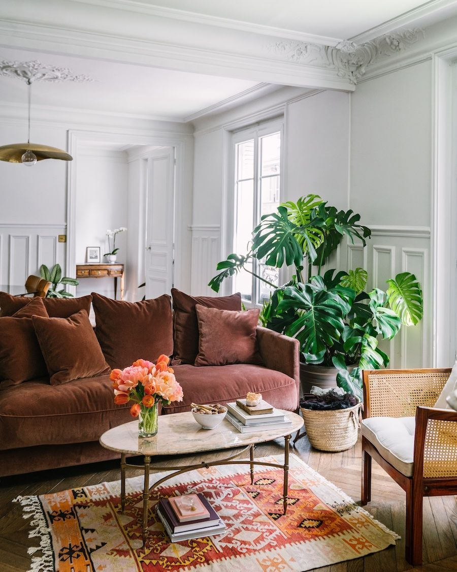 59 Parisian Living Rooms To Make You Swoon In 2020 Parisian Apartment Decor Parisian Living Room Apartment Decor #parisian #living #room #ideas