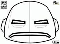 Image Result For Ben 10 Alien Masks Ben 10 Coloring Pages 10 Things