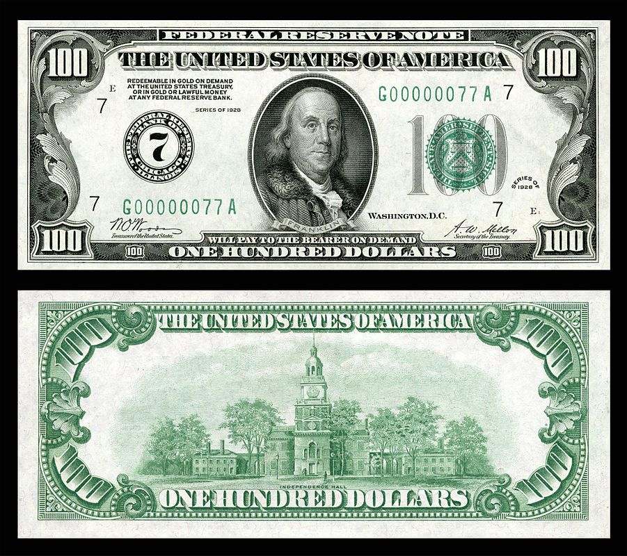 Federal Reserve Note Wikipedia The Free Encyclopedia Money Template Banknotes Money Dollar Money