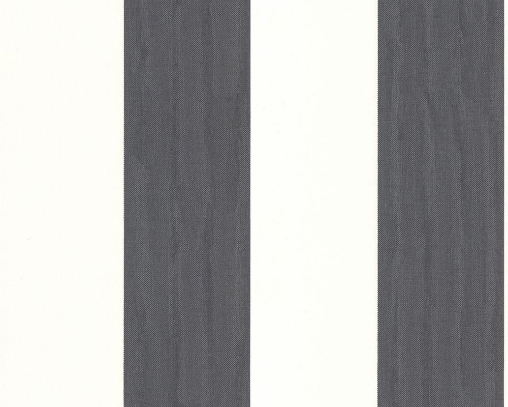 Schwarz Weisse Streifen Von A S Creation Tapete 179050 Black And