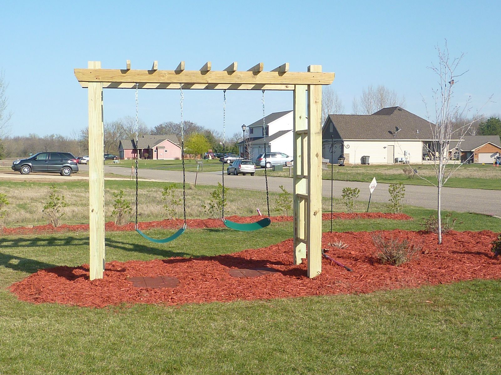 Scott s Idea for the children s Swing set To build