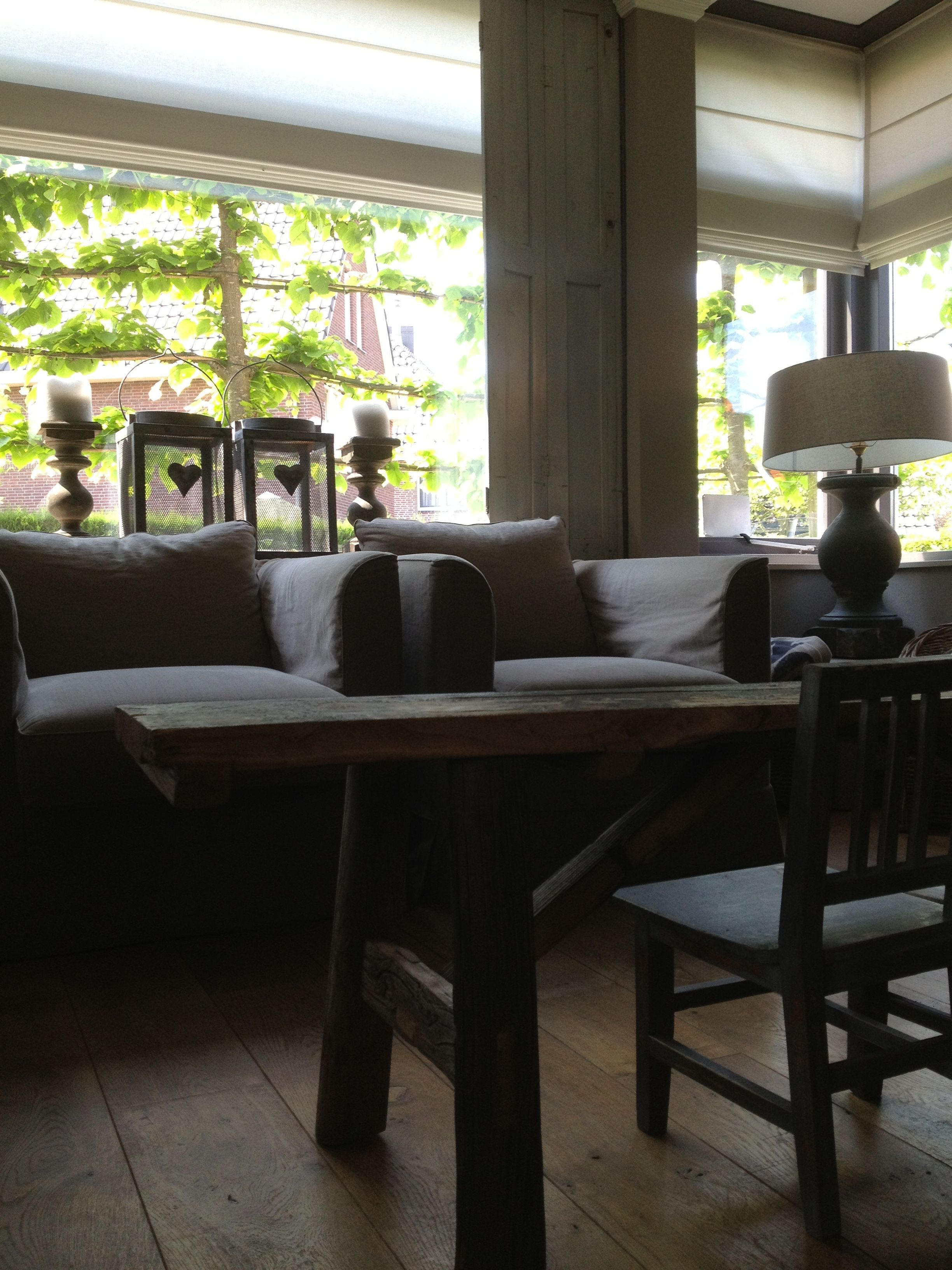 Woonkamer mi casa pinterest belgian style and interiors for Woonkamer style
