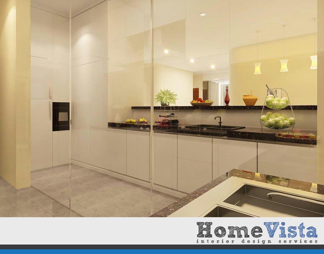 Condo Interior Design - Peach Garden Condo - HomeVista Singapore