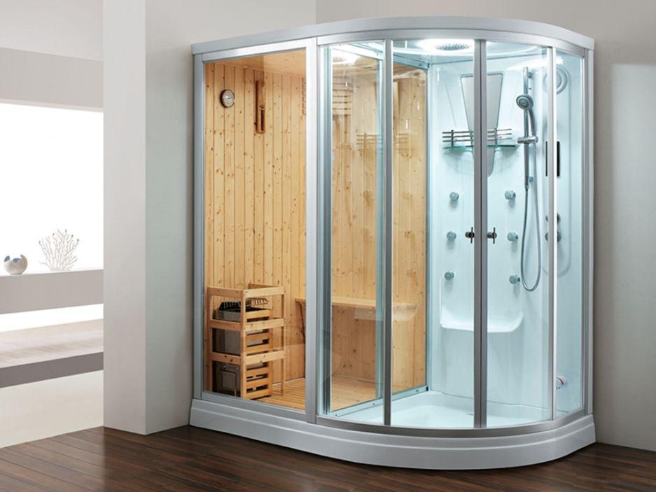 douche d 39 angle baln o hammam sauna vesta l180xp120xh215cm angle gauche le luxe la port e. Black Bedroom Furniture Sets. Home Design Ideas