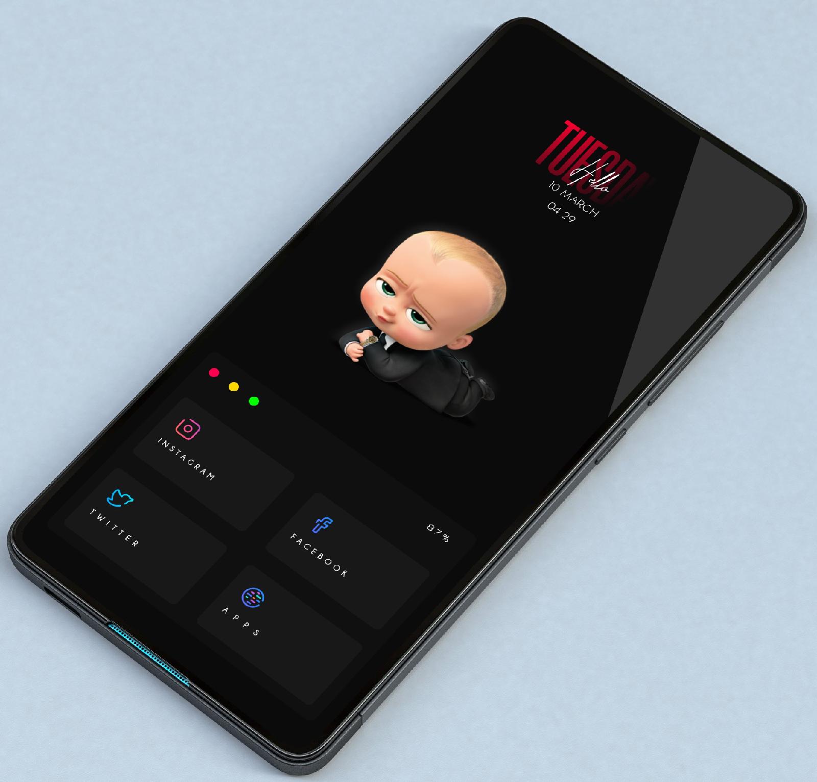 Dark hipster screen in 2020 Screen, Android phone, Dark