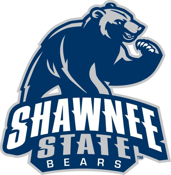 Shawnee State Bears Naia Mid South Conference Portsmouth Ohio Shawnee State College Logo Sports Logo Design