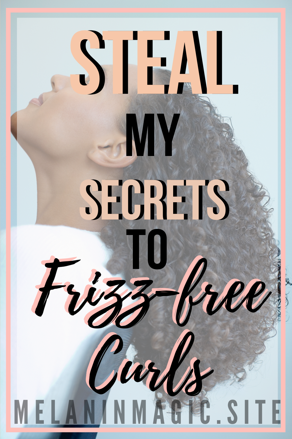 Hey, girl, hey! I have some HOT secrets coming your way on how to get frizz-free, juicy curls. The best part? I only use 2 products to do it! I also give you tips on how to make your twist-outs last longer! Curly hair, natural curly hair, hair products. #3bhair #curlyhair #naturalhaircare #naturalcurlyhair #refreshedcurls