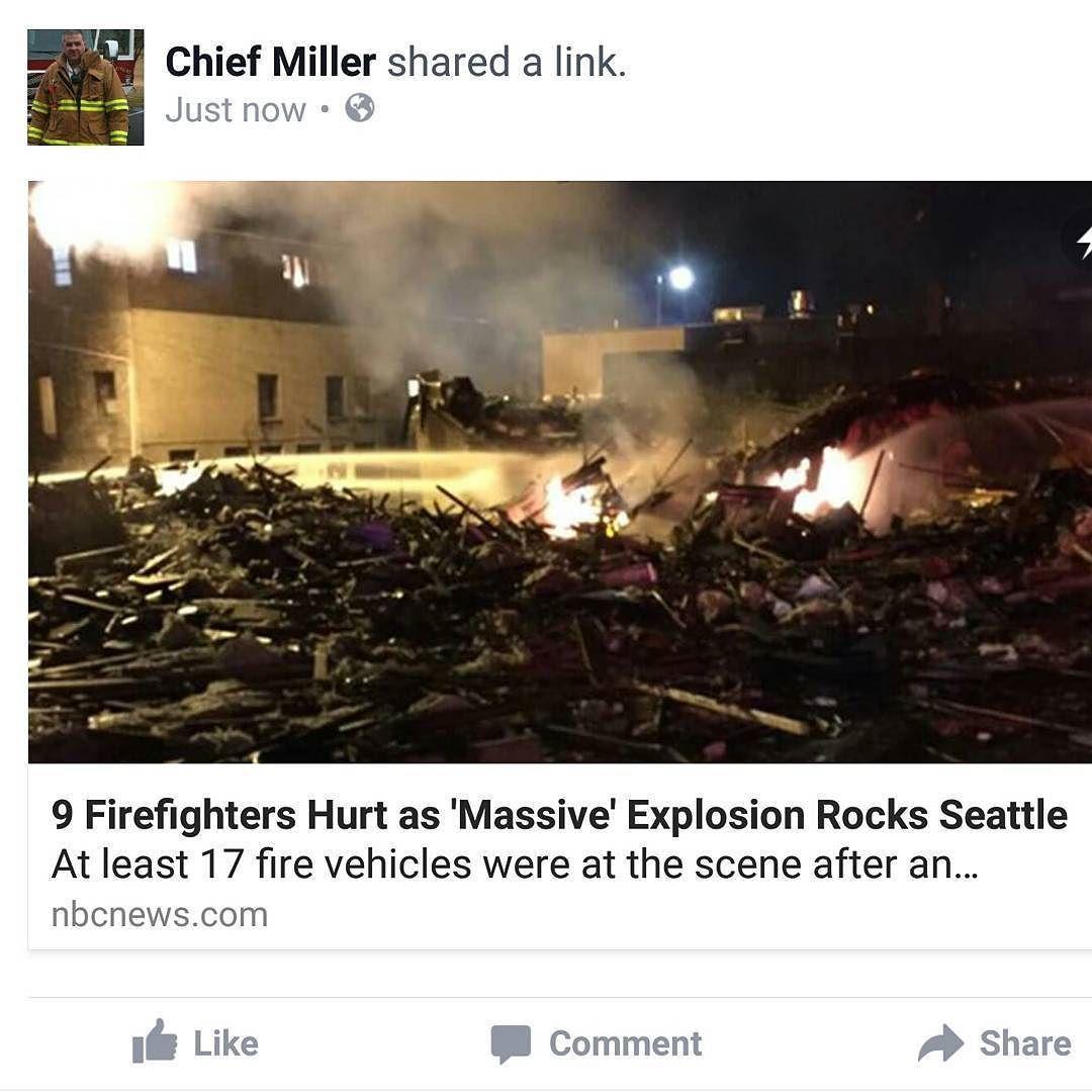 BREAKING NEWS   9 FIREFIGHTERS HURT IN MASSIVE EXPLOSION.  See Chief Miller Facebook page for video and details.  http://ift.tt/1PR1aJr . . #fire #firetruck #firedepartment #fireman #firefighters #emt #ems #brotherhood #firefighting #paramedic #firehouse #rescue #firedept  #東京消防庁  #feuerwehr #crossfit #消防士  #firerescue #firemen #firestation #motivation  #ambulance #emergency #love #bomberos #kcco #firefighters #firefighter