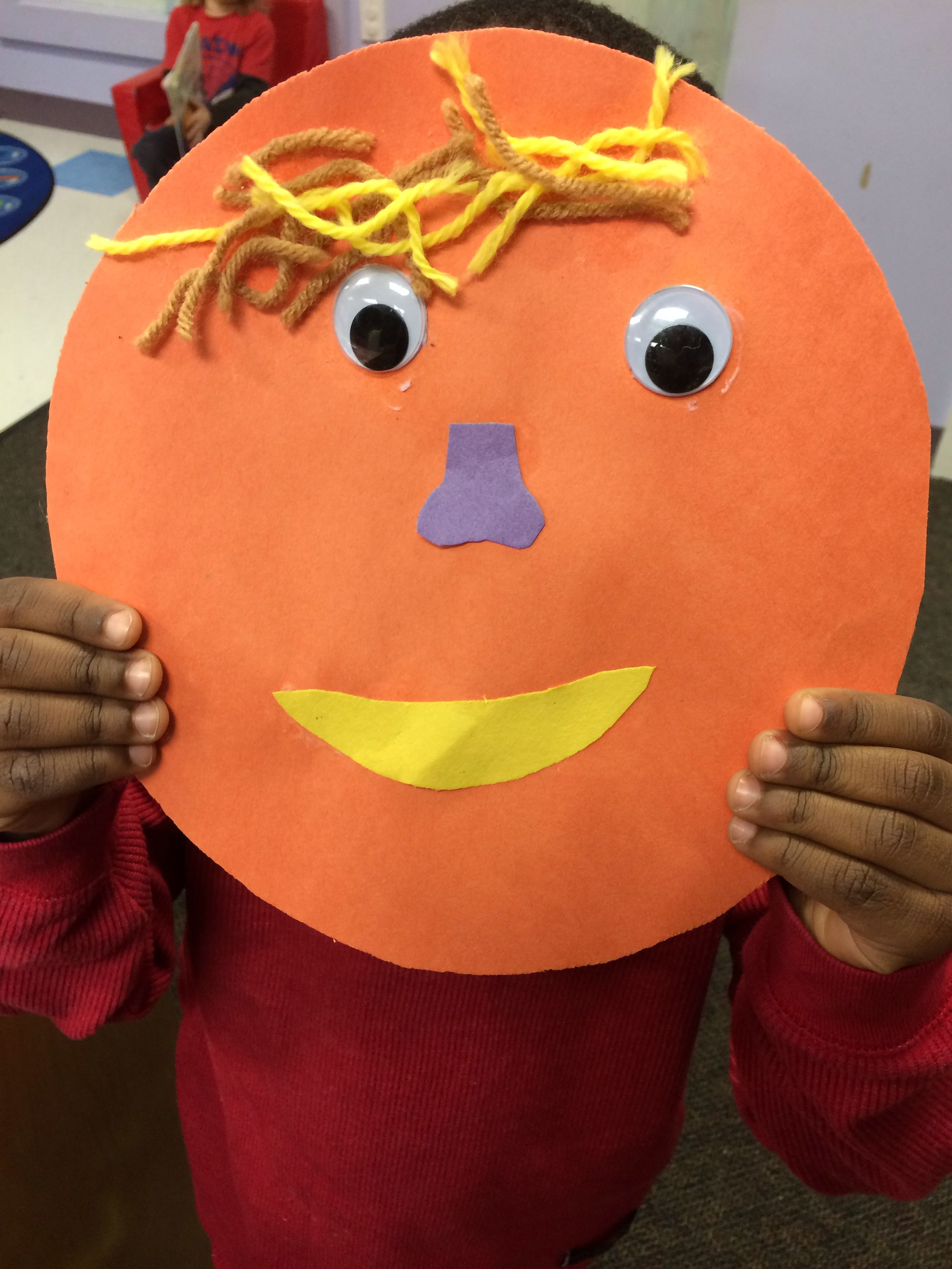 Facial Expressions And Emotions Preschool Arts And Crafts