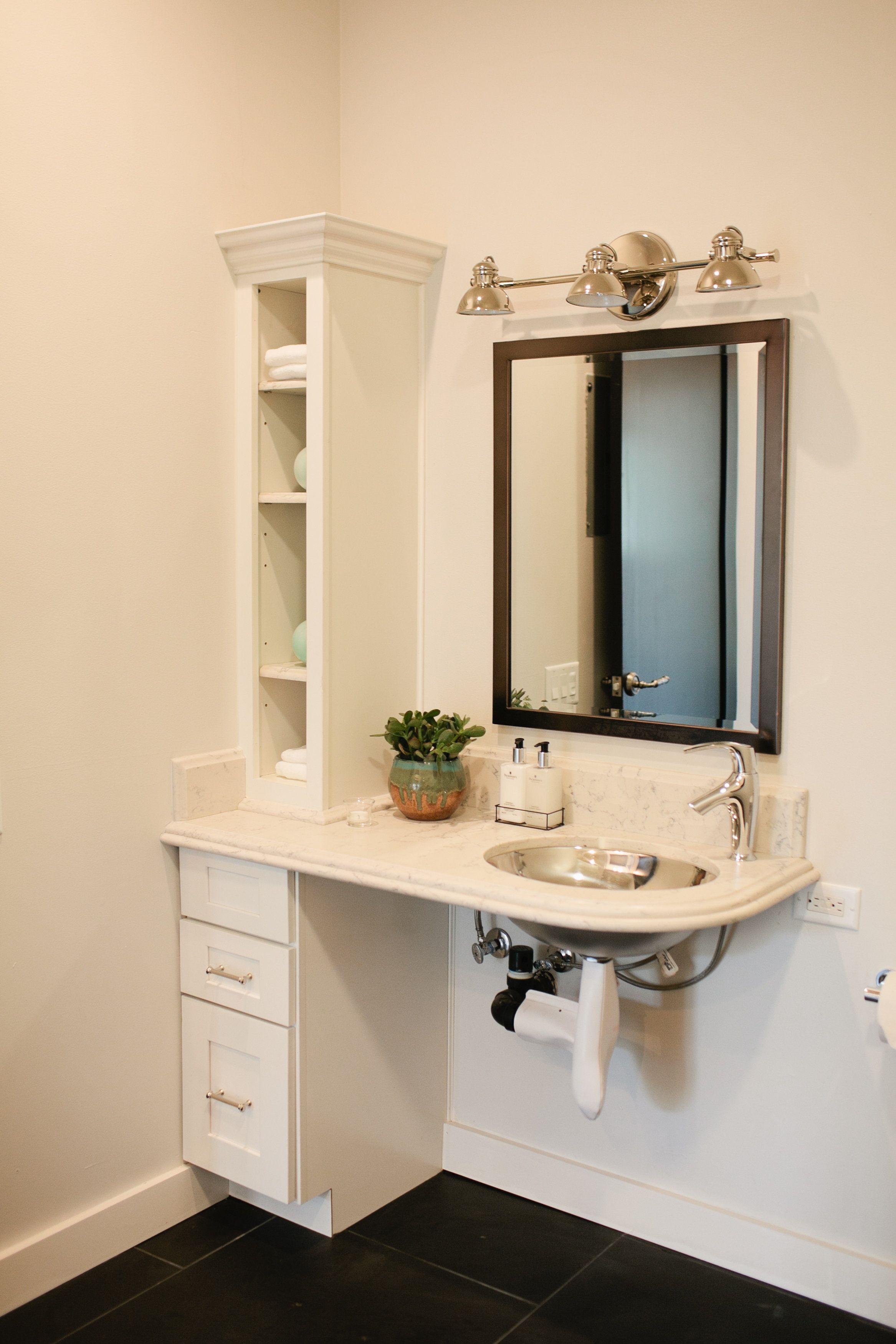 ADA certified bathroom. #DreamBuilders | Handicap bathroom ...