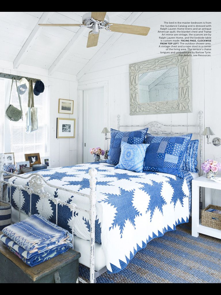 Pin by Glynn Peterson on Two color quilts | Blue bedroom
