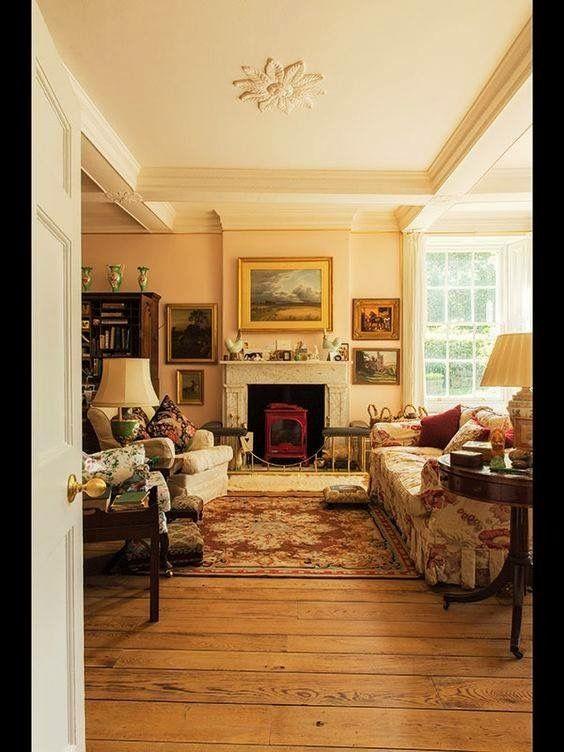 Pin di irene su belle case pinterest - Cottage inglesi interni ...