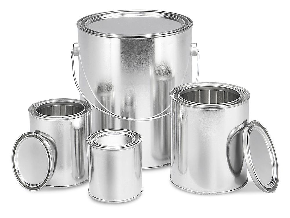 Paint Cans Empty Paint Cans Metal Paint Cans In Stock Uline Ca In 2020 Paint Cans Canning Metal