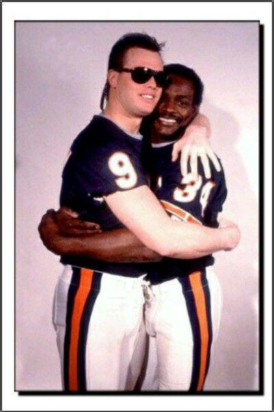 Jim McMahon & Walter Payton 1985