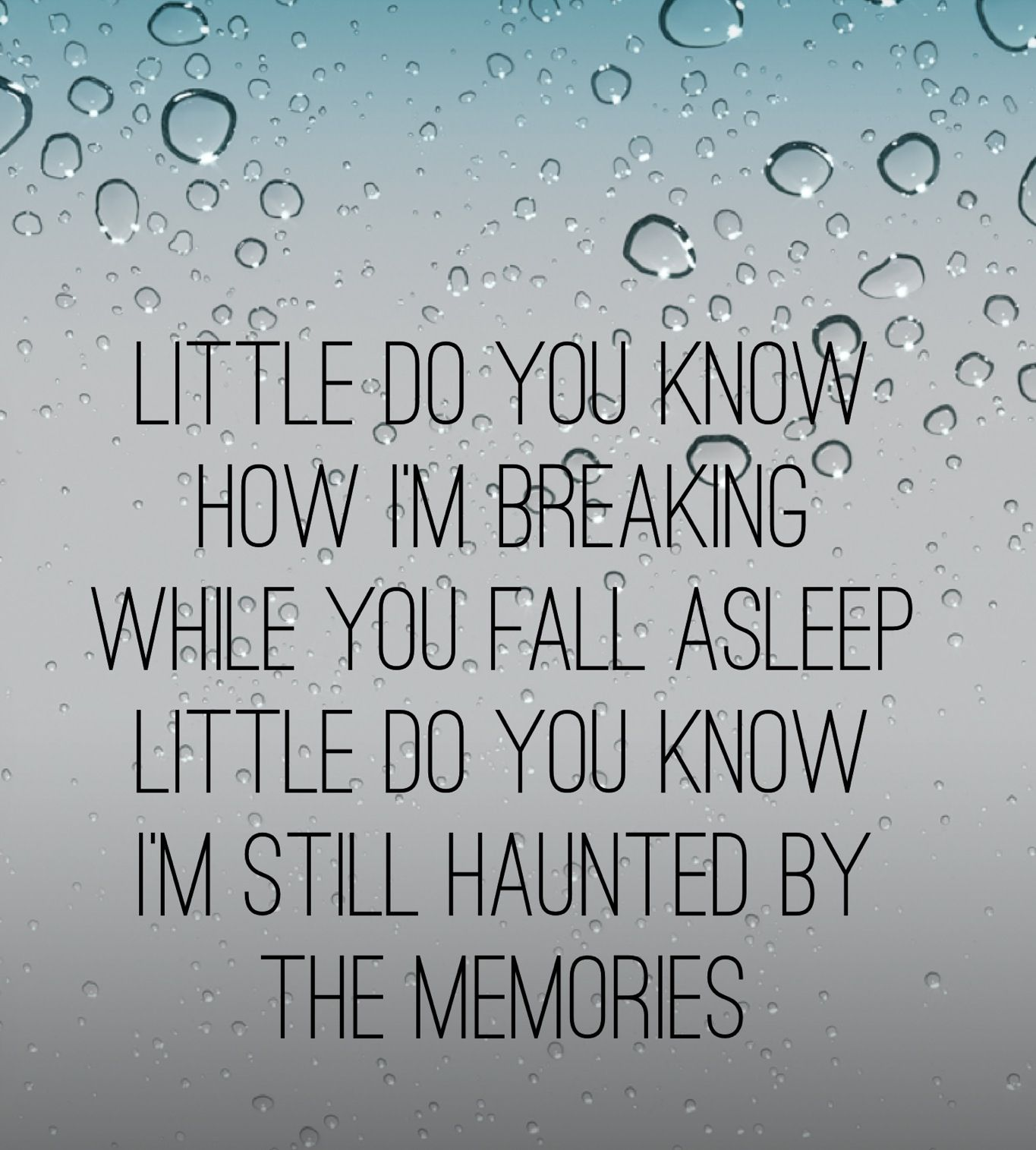 What are some of the best lyric written, do you remember?