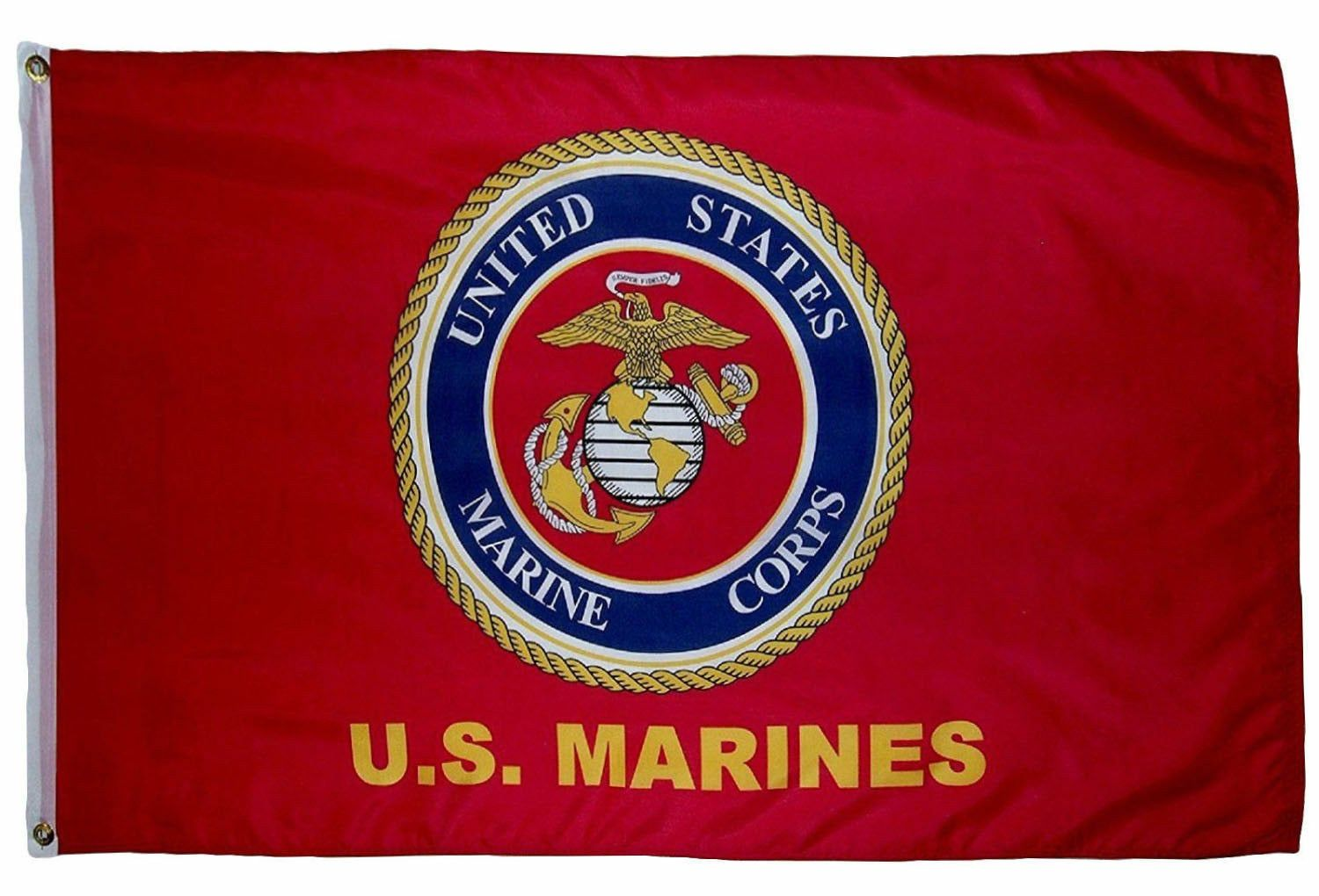 U S Marine Corps 5 X 3 Flag Free Shipping Etsy In 2020 Marine Flag Marine Corps Marines